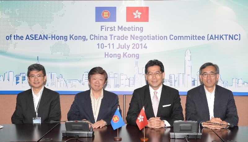 香港與東盟展開自由貿易協定談判(附圖)