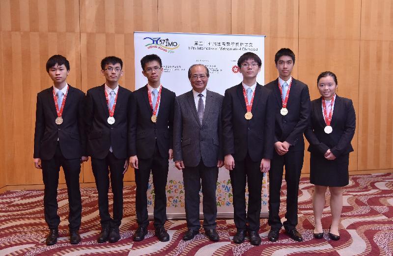 Hong Kong students shine at International Mathematical