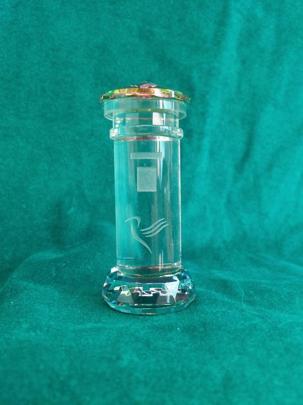 Mini Crystal Pillar Box.