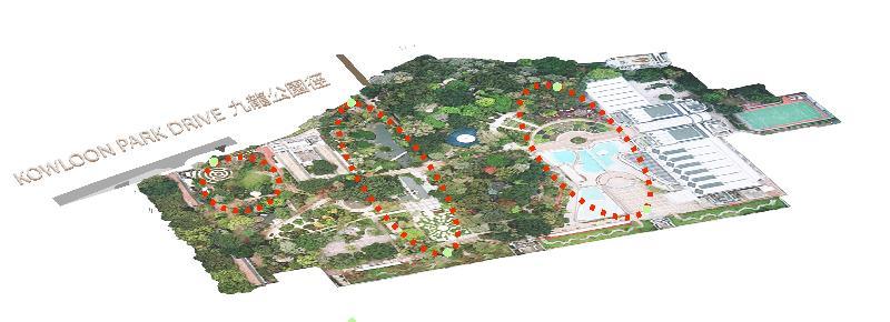 「城市地下空間發展:策略性地區先導研究」第一階段公眾參與活動今日(十一月七日)展開,收集公眾對發展地下空間的意見。位於尖沙咀西中心點的九龍公園具備發展地下空間的潛力。
