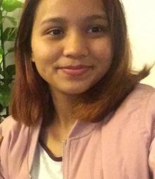 十七歲女子Gurung Chitra身高約一點五七米,體重約五十三公斤,中等身材,長面型,黃皮膚及蓄短直黑啡髮。