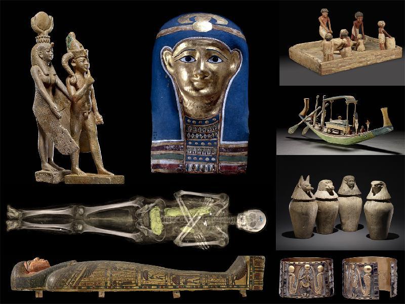 香港科學館與大英博物館於明年六月至十月合辦「永生傳說-透視古埃及文明」展覽。這是特區成立二十周年的其中一項重點活動。©The Trustees of the British Museum