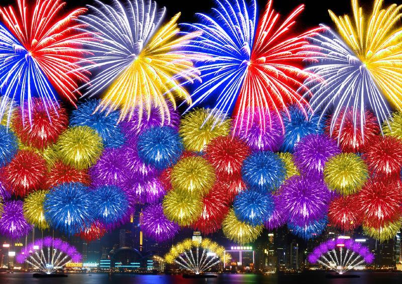 「二○一七年農曆新年煙花匯演」星期日(一月二十九日)年初二晚上八時在維多利亞港上空舉行。最後一幕《每一個明天》,長達三十秒密集發放的煙花絢爛熱鬧,祝願香港安定繁榮。