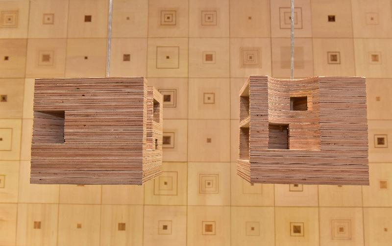 建築兵法--「第十五屆威尼斯國際建築雙年展」香港回應展於即日至五月三十日在北角油街實現舉行。圖示建築師翁松光與趙恒美的作品「標準化的『無』到『有』」。