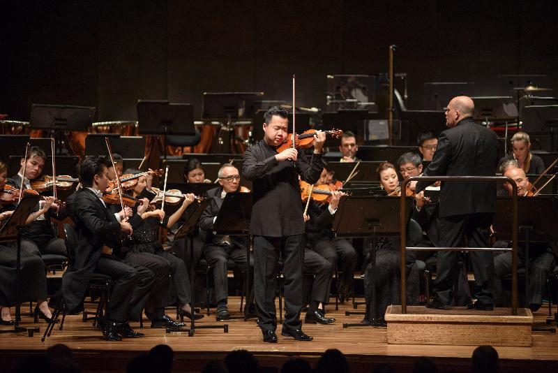 香港管弦樂團昨日(墨爾本時間五月四日)於墨爾本藝術中心演出。