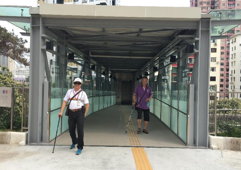 九龍醫院新升降機大樓為病人及訪客提供更方便的出入通道。