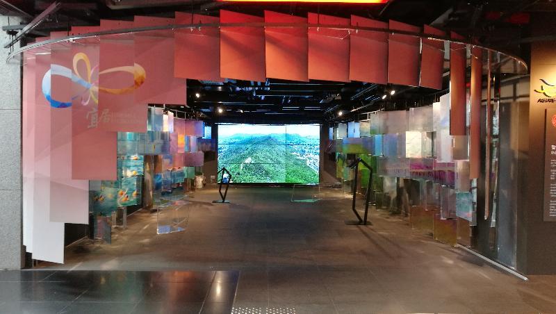 「印象∞香港」展覽於六月二十日至十一月三十日在中環愛丁堡廣場三號展城館舉行。圖示展覽的「宜.居」展區。