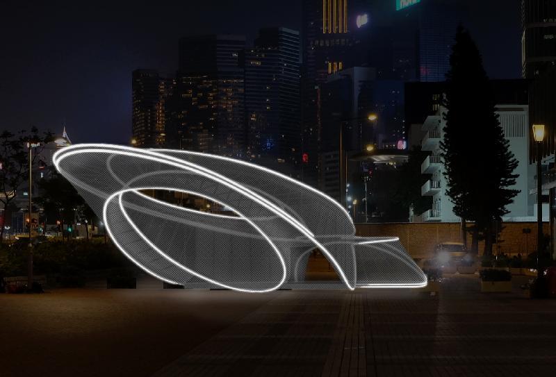 「印象∞香港」展覽於六月二十日至十一月三十日在中環愛丁堡廣場三號展城館舉行。圖示於愛丁堡廣場「樂.遊」香港展區展出的新式未來建築物電腦構想圖。
