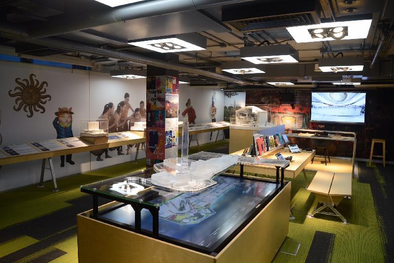 「印象∞香港」展覽由明日(六月二十日)至十一月三十日於展城館舉行。「藝‧文」展區展示大眾未來可透過西九文化區,了解香港未來的藝術發展。