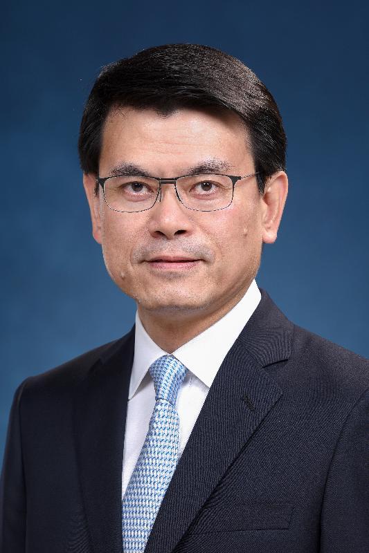 候任商務及經濟發展局局長邱騰華。