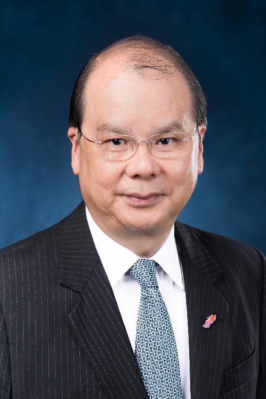 候任政務司司長張建宗。
