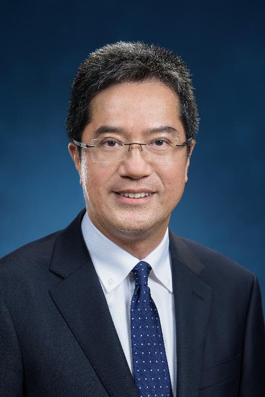 候任發展局局長黃偉綸。