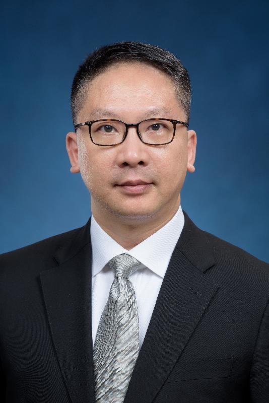 候任律政司司長袁國強。