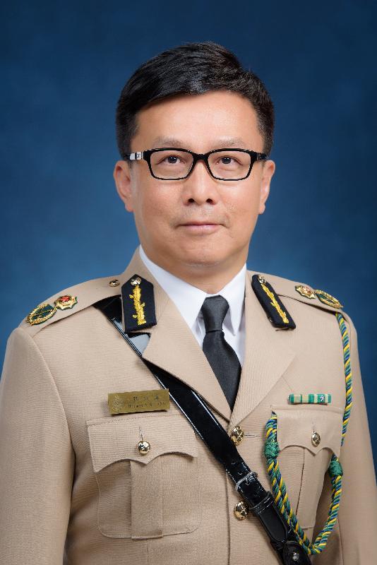 候任海關關長鄧以海。