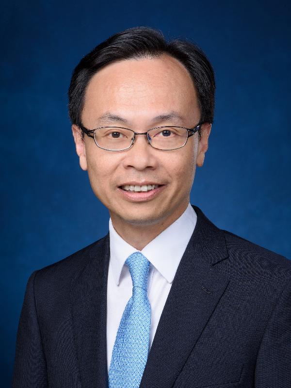 Secretary for Constitutional and Mainland Affairs (designate), Mr Patrick Nip Tak-kuen.