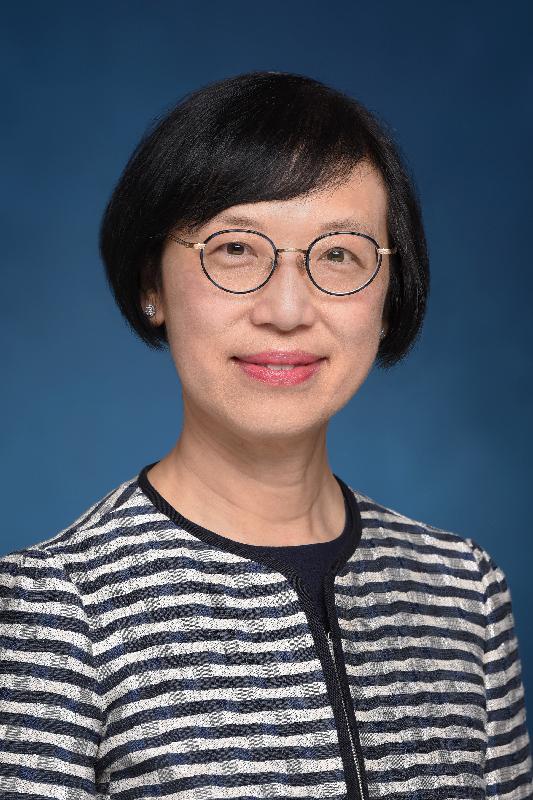 Secretary for Food and Health (designate), Professor Sophia Chan Siu-chee.