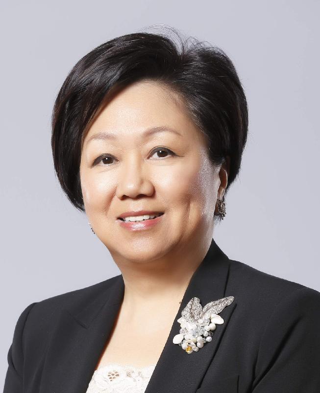 香港特別行政區新一屆行政會議非官守議員史美倫。