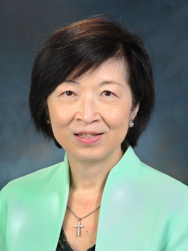 香港特別行政區新一屆行政會議非官守議員羅范椒芬。