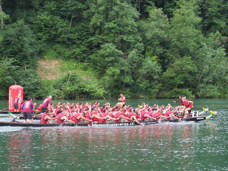 第二十六屆埃格利紹龍舟競賽於六月二十四日至二十五日(埃格利紹時間)在瑞士舉行。
