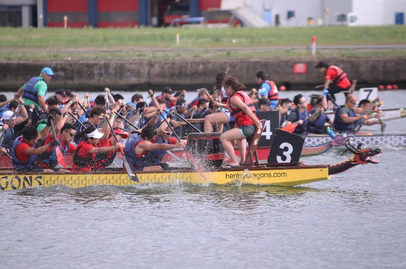 2017倫敦香港龍舟同樂日於六月二十五日(倫敦時間)在倫敦船塢區舉行,有四十支龍舟隊伍參加全日舉行的賽事。