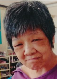 Yiu Yuk-ying, aged 64, is about 1.5 metres tall, 59 kilograms in weight and of fat build. She has a round face with yellow complexion and short grey black hair.