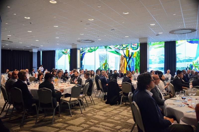香港特別行政區成立二十周年商務研討會暨慶祝晚宴於六月三十日(鹿特丹時間)在鹿特丹舉行。當日超過250名人士出席商務研討會,約200名人士出席當晚舉行的慶祝晚宴。