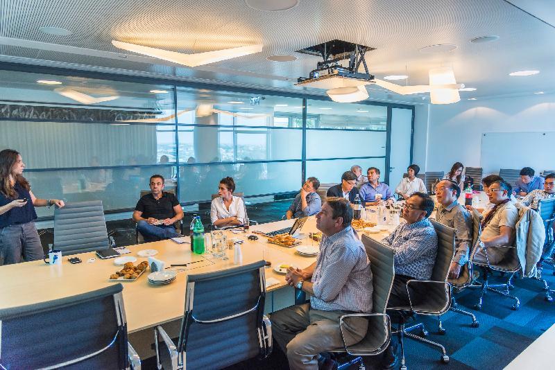 立法會發展事務委員會訪問團昨日(以色列時間七月二十七日)在以色列到訪以科技為主導的私募基金集團Viola,了解該集團為科技新創企業籌集資金的角色。