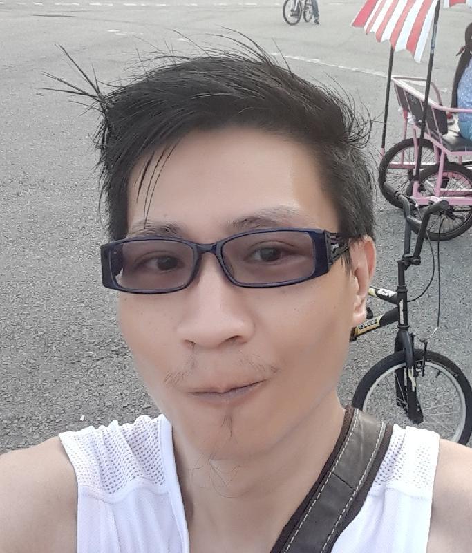 失蹤男子朱相澤的照片