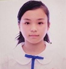 Photo of missing girl Leung Ting-ting