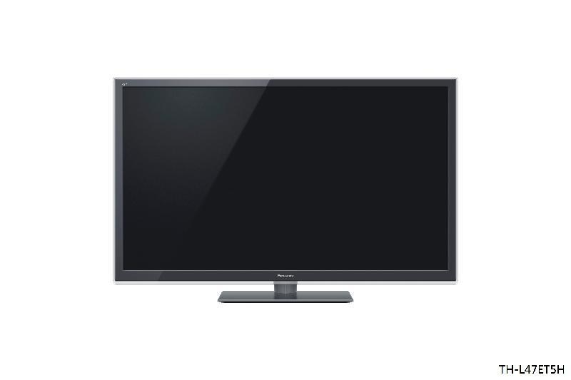 機電工程署今日(九月十三日)提醒市民,「Panasonic」牌兩款液晶電視機有潛在翻倒風險。圖示其中一款型號為TH-L47ET5H的液晶電視機。