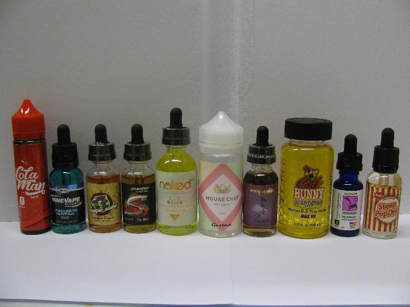 含有尼古丁成分的液體產品