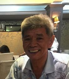 Photo of missing man Lam Kwok-shing