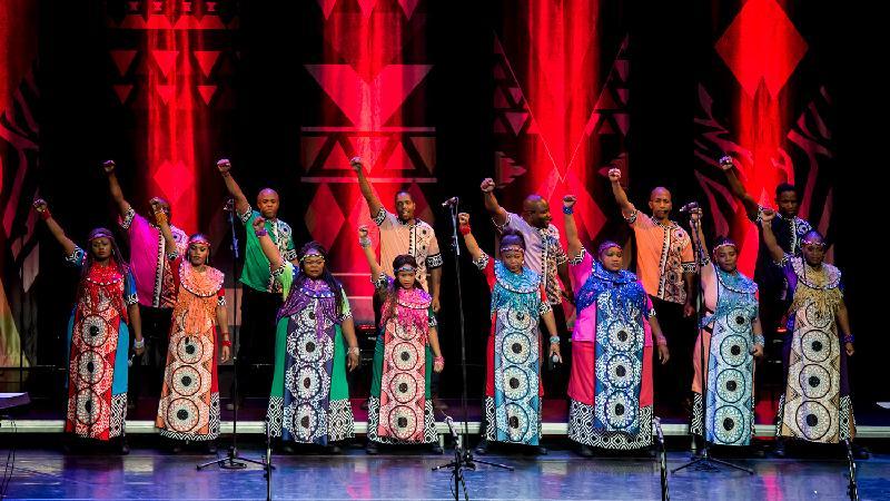 索韋托靈歌合唱團音樂會十月二十七至二十九日在香港舉行,是「世界文化藝術節2017--躍動非洲」節目之一。