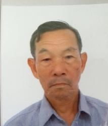 Photo of missing man Chan Tam-shun
