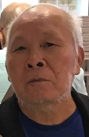 He is about 1.6 metres tall, 68 kilograms in weight and of medium build. He has a round face with yellow complexion and short white hair. He was last seen wearing a dark-coloured jacket, a beige T-shirt, light blue jeans and black sports shoes.