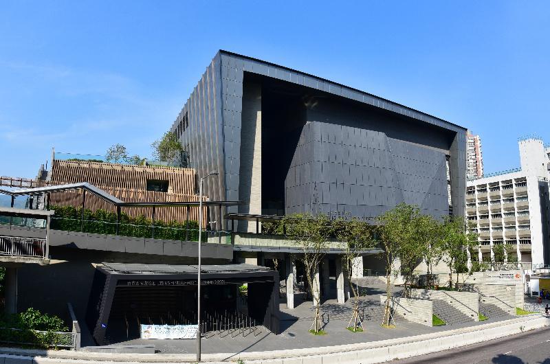 青衣西南康體大樓今日(十二月五日)正式開幕,圖示大樓的外貌。