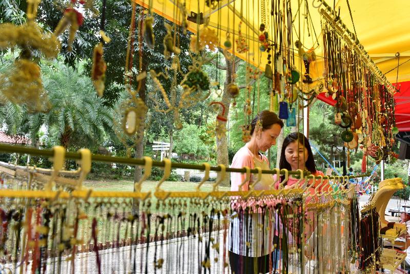 康樂及文化事務署邀請市民參與新一期「藝趣坊」活動。活動明年一月一日至十二月三十一日期間逢星期六、日及公眾假期在香港公園舉行。場內共設有十個攤位,除展出及售賣各種精緻的手工藝品,例如麵塑、紙藝、草編和飾物等,亦提供繪畫、人像剪影和人像素描等服務。