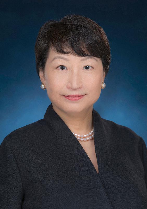 Secretary for Justice (designate), Ms Teresa Cheng Yeuk-wah, SC.