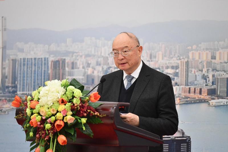 全國政協副主席陳元今日(二月三日)在北京出席「國家所需 香港所長——共拓一帶一路策略機遇」論壇,並於午餐會上作主題發言。