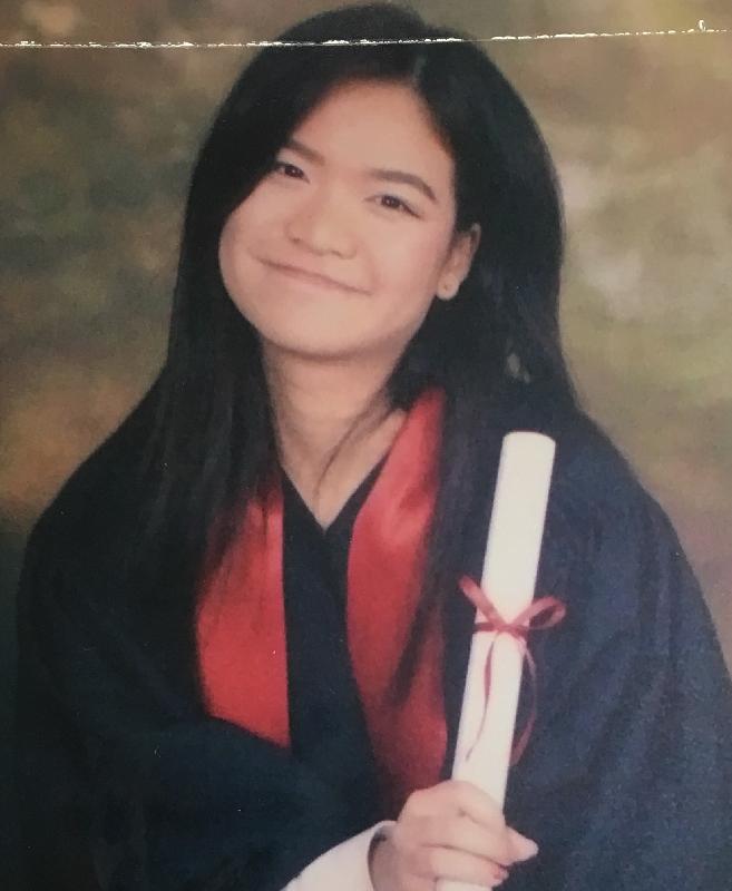 二十二歲女子楊汶蔚身高約一點六米,體重約五十公斤,中等身材,圓面型,黃皮膚,蓄長直黑髮。她最後露面時戴黑框眼鏡。