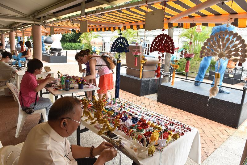 康樂及文化事務署誠邀市民參與六月三日至明年五月二十六日,逢星期日及公眾假期在轄下九龍公園舉行的新一期「藝趣坊」活動,培養市民對藝術的興趣。