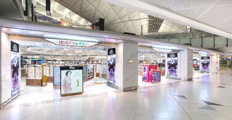 新羅免稅店今日(六月二十八日)宣布,旗下位於香港國際機場的零售店正式開幕,標誌該韓國旅遊零售業品牌在東亞市場持續擴充踏出重要一步。圖為該品牌店鋪。