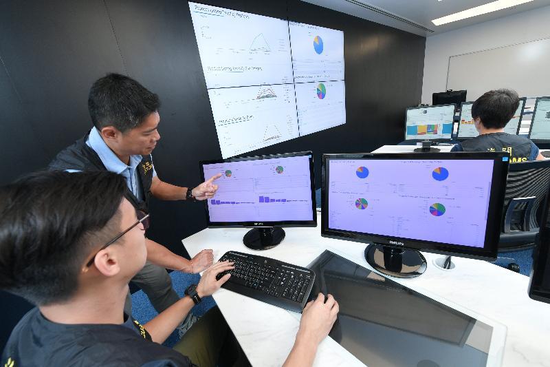 香港海關於暑假期間加強網上平台巡邏。