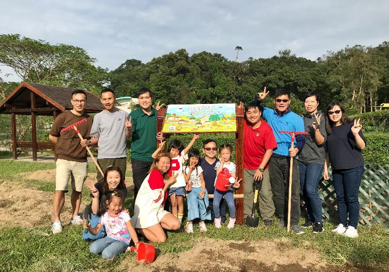 教育局與漁農自然護理署合作,在該署轄下兩個訪客中心設立幼稚園教育資源中心。圖示其中一個場地獅子會自然教育中心,另一場地為香港濕地公園。