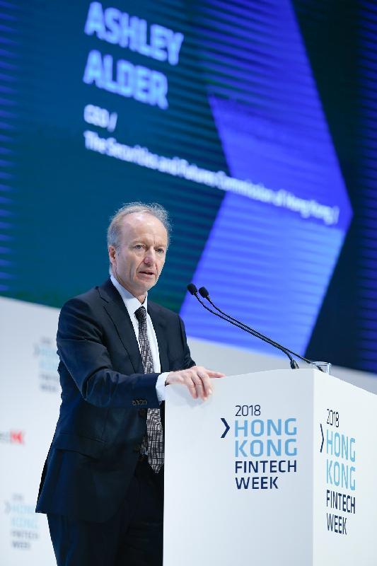 證券及期貨事務監察委員會行政總裁歐達禮於十一月一日在香港金融科技周宣布監管虛擬資產的新指引。