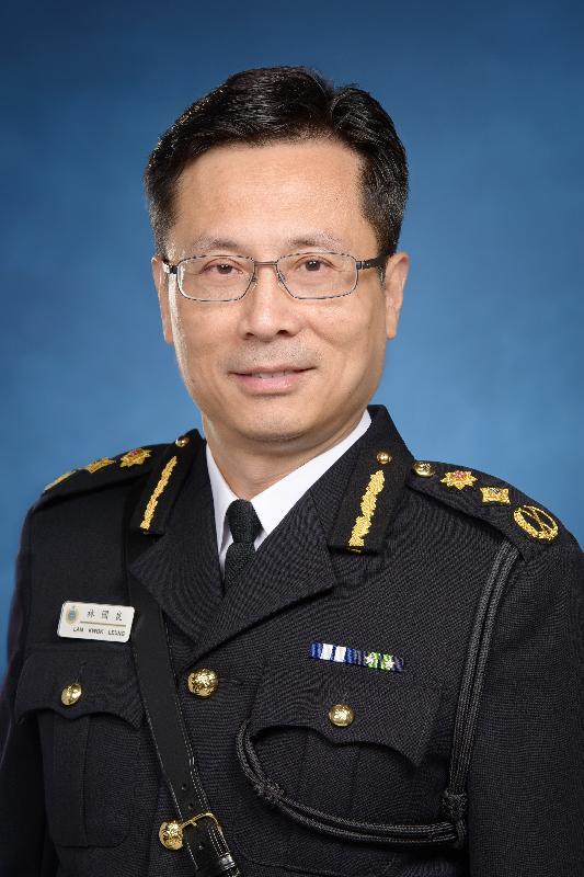 現任懲教署署長林國良服務政府逾三十四年後將展開退休前休假。