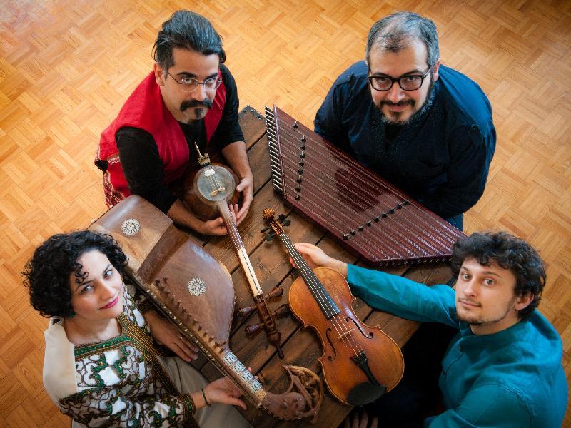 卡曼音樂四人組「伊朗式煉金術」音樂會由康樂及文化事務署主辦,於二○一九年一月十二日(星期六)晚上八時,在香港大會堂劇院舉行。