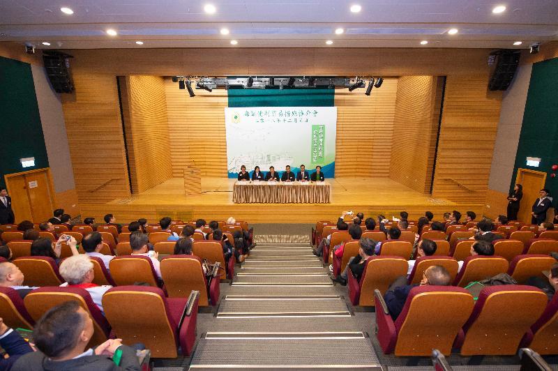 香港海關今日(十二月五日)於香港海關總部大樓舉行便利貿易措施推介會,向物流業界介紹海關的通關便利措施。