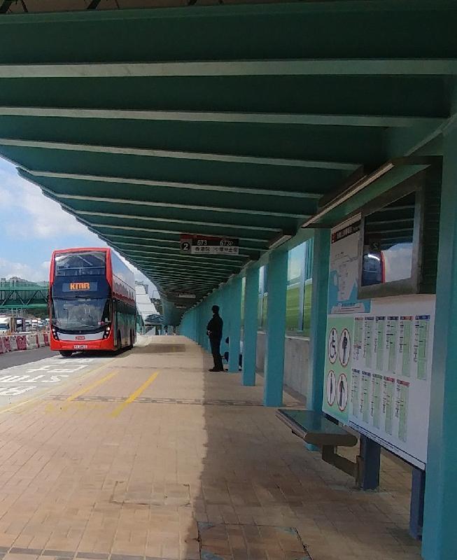 粉岭公路巴士转乘站十二月二十三日早上五时启用。