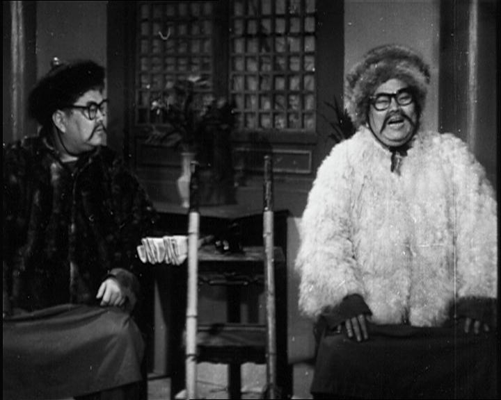 康樂及文化事務署香港電影資料館(資料館)在農曆新年找來一眾笑星,於二月七日及九日在資料館電影院推出的賀歲節目「笑星笑聲伴你過肥年」大放笑彈。圖為《真假歐陽德》(1952)劇照。